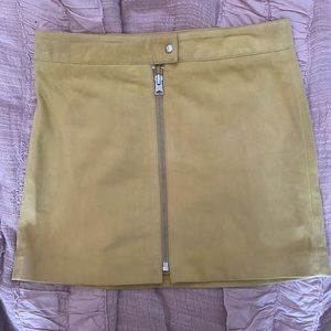 NWT AllSaints suede skirt